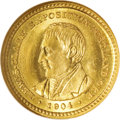 Commemorative Gold: , 1904 G$1 Lewis and Clark MS66 ★ NGC. The Lewis and Clark CentennialExposition, held in Portl...