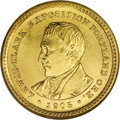 Commemorative Gold: , 1905 G$1 Lewis and Clark MS66 NGC. Many numismatists accept theassertion of Q. David Bowers that Charles Barber copied the...