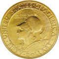 Commemorative Gold: , 1915-S Panama-Pacific Fifty Dollar Round MS65 NGC. Ex: PrinziCollection. Public celebrations are an age-old phenomenon. Two...