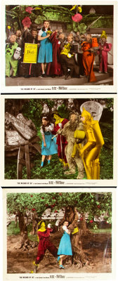 "The Wizard of Oz (MGM, 1939). Color Glos Photos (3) (8"" X 10""). ... (Total: 3 Items)"