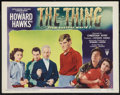 "Movie Posters:Science Fiction, The Thing from Another World (RKO, 1951). Lobby Card (11"" X 14"").Science Fiction.. ..."