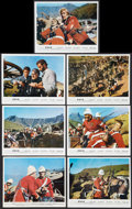 "Movie Posters:War, Zulu (Embassy, 1964). British Color Photos (7) (8"" X 10""). War..... (Total: 7 Items)"