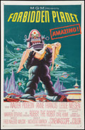 "Movie Posters:Science Fiction, Forbidden Planet (MGM, 1956). One Sheet (27"" X 41""). Science Fiction.. ..."