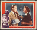 """Movie Posters:Science Fiction, The Day the Earth Stood Still (20th Century Fox, 1951). Lobby Card (11"""" X 14""""). Science Fiction.. ..."""