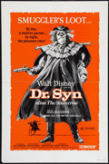 "Movie Posters:Adventure, Dr. Syn Alias the Scarecrow (Walt Disney Productions, 1972). OneSheet (27"" X 41""). Adventure.. ..."