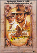 "Movie Posters:Action, Indiana Jones and the Last Crusade (Paramount, 1989). German A1(23.5"" X 33""). Action.. ..."