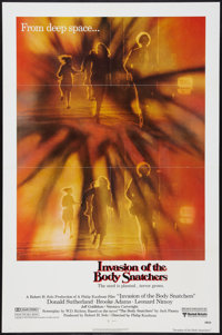 "Invasion of the Body Snatchers (United Artists, 1978). One Sheets (2) (27"" X 41"") Advance and Regular. Science..."