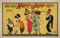 Memorabilia:Comic-Related, Bud Fisher Mutt and Jeff Musical Comedy Poster (Bud Fisher, 1911)....