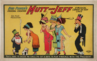 Bud Fisher Mutt and Jeff Musical Comedy Poster (Bud Fisher, 1911)