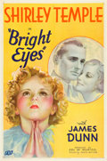 "Movie Posters:Comedy, Bright Eyes (Fox, 1934). One Sheet (27"" X 41"") Style B.. ..."