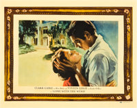 "Gone with the Wind (MGM, 1939). Half Sheet (22"" X 28"") Roadshow Style"