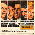 "Movie Posters:Crime, Ocean's 11 (Warner Brothers, 1960). Six Sheet (81"" X 81"").. ..."