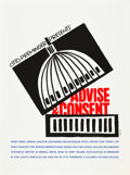 "Movie Posters:Drama, Advise & Consent (Art Krebs Screen Studio, 1962). Saul BassSilk-Screen Poster (26.25"" X 39.5"").. ..."