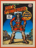 Original Comic Art:Miscellaneous, Robert Crumb Dale Steinberger the Jewish Cowgirl SignedLimited Edition Serigraph Print #72/100 (Wildwood Serigrap...