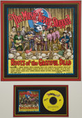 Original Comic Art:Miscellaneous, Robert Crumb The Music Never Stopped Signed Print (1997)....