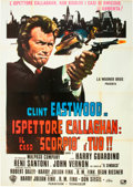 "Movie Posters:Crime, Dirty Harry (Warner Brothers, 1971). Italian 4 - Foglio (55"" X78"").. ..."