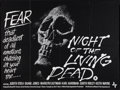 """Movie Posters:Horror, Night of the Living Dead (Monarch Films, 1968). British Quad (30"""" X40""""). Horror.. ..."""
