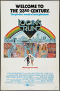 """Movie Posters:Science Fiction, Logan's Run (MGM, 1976). One Sheet (27"""" X 41"""") and Uncut Pressbook(Multiple Pages, 11"""" X 17""""). Science Fiction.. ... (Total: 2 Items)"""