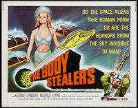 "The Body Stealers (Allied Artists, 1970). Half Sheet (22"" X 28""). Science Fiction"