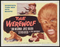 """Movie Posters:Horror, The Werewolf (Columbia, 1956). Title Lobby Card (11"""" X 14""""). Horror.. ..."""