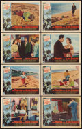 "Movie Posters:Science Fiction, The Phantom from 10,000 Leagues (American Releasing Corp., 1955).Lobby Card Set of 8 (11"" X 14""). Science Fiction.. ... (Total: 8Items)"