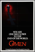"Movie Posters:Horror, The Omen (20th Century Fox, 1976). One Sheet (27"" X 41"") Style A. Horror.. ..."