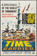 """Movie Posters:Science Fiction, Beyond the Time Barrier (American International, 1959). One Sheet(27"""" X 41""""). Science Fiction.. ..."""