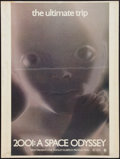 "Movie Posters:Science Fiction, 2001: A Space Odyssey (MGM, 1968). Poster (30"" X 40""). ScienceFiction.. ..."