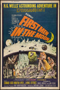 "Movie Posters:Science Fiction, First Men in the Moon (Columbia, 1964). Poster (40"" X 60"") Style Z.Science Fiction.. ..."
