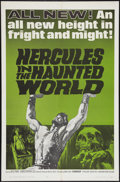 """Movie Posters:Adventure, Hercules in the Haunted World (Woolner Brothers, 1964). One Sheet(27"""" X 41""""). Adventure.. ..."""