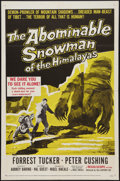 """Movie Posters:Horror, The Abominable Snowman of the Himalayas (20th Century Fox, 1957). One Sheet (27"""" X 41""""). Horror.. ..."""
