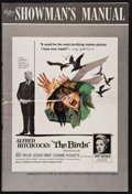 """Movie Posters:Hitchcock, The Birds (Universal, 1963). Uncut Pressbook (42 Pages, 12"""" X 18"""").Hitchcock.. ..."""