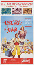 """Movie Posters:Fantasy, The Magic Voyage of Sinbad & Other Lot (Filmgroup, Inc., 1962).Three Sheets (2) (41"""" X 79""""). Fantasy.. ... (Total: 2 Items)"""