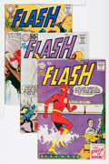 Silver Age (1956-1969):Superhero, The Flash Group (DC, 1959-67) Condition: Average VG+.... (Total: 8 Comic Books)