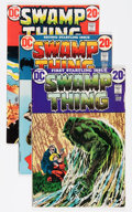 Bronze Age (1970-1979):Horror, Swamp Thing Group (DC, 1972-75) Condition: Average VG/FN....(Total: 29 Comic Books)
