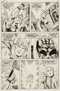 Original Comic Art:Panel Pages, Jack Kirby and Bill Everett Thor #172 Transformation page 2Original Art (Marvel, 1969)....