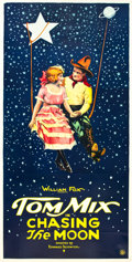 "Movie Posters:Western, Chasing the Moon (Fox, 1922). Three Sheet (41"" X 81"").. ..."