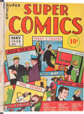 Golden Age (1938-1955):Miscellaneous, Super Comics #1-12 Bound Volume (Dell, 1938-39)....