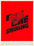 "Movie Posters:Horror, The Shining (Art Krebs Studio, 1980). Saul Bass Silk-Screen Poster(20"" X 26.5"").. ..."