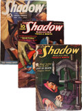 Pulps:Detective, Shadow Box Lot (Street & Smith, 1934-39) Condition: AverageVG....