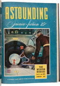 Pulps:Science Fiction, Astounding Stories Bound Volumes (Street & Smith, 1942-59)....(Total: 4 Box Lots)