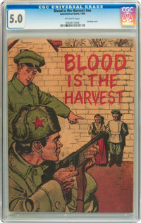 Blood Is the Harvest #nn (Catechetical Guild, 1950) CGC VG/FN 5.0 Off-white pages
