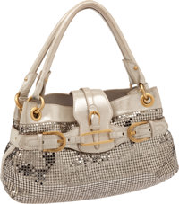 Jimmy Choo Metallic Shoulder Bag