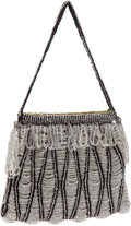 Luxury Accessories:Bags, Heather Cracken Beaded Evening Bag. ...