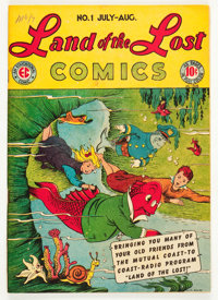 Land of the Lost Comics #1 (EC, 1946) Condition: FR