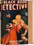 Pulps:Detective, Black Book Detective Bound Volumes (Better Publications,1939-53).... (Total: 11 Items)