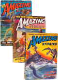 Pulps:Science Fiction, Amazing Stories Group (Ziff-Davis, 1943) Condition: Average VG....(Total: 10 Items)