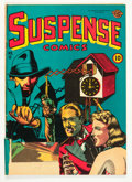 Golden Age (1938-1955):Horror, Suspense Comics #12 (Continental Magazines, 1946) Condition: FR....