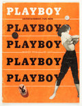 Magazines:Miscellaneous, Playboy #4 (HMH Publishing, 1954) Condition: VG....