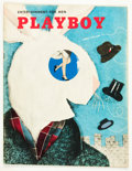 Magazines:Miscellaneous, Playboy #5 (HMH Publishing, 1954) Condition: VG+....